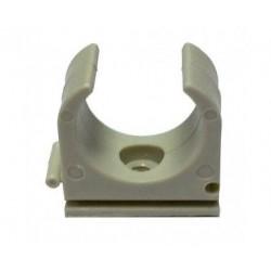 ABRAZADERA SOPORTE TUBO RIGIDO PVC GRIS M25