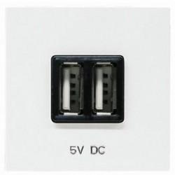 CARGADOR USB DOBLE NIESSEN ZENIT N2285AN