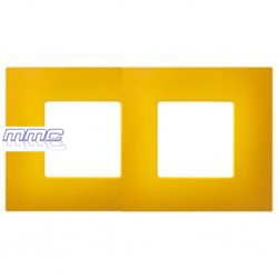 FUNDA MARCO 2 ELEMENTOS GAMA COLOR AMARILLO SIMON 27 PLAY 2700627-062