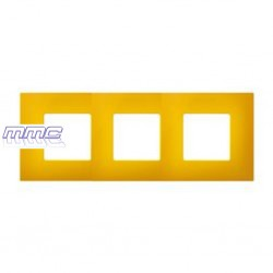FUNDA MARCO 3 ELEMENTOS GAMA COLOR AMARILLO SIMON 27 PLAY 2700637-062