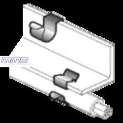 CLIP FIJACION A VIGA ESPESOR 8-12MM PARA TUBO DE 19-24MM