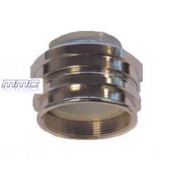RACORD METALICO HEMBRA TUBO PVC FLEXIBLE PG13 - M25 210.2013.0 GAESTOPAS