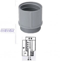 RACORD POLIAMIDA TUBO PVC FLEXIBLE PG7 240.0700.0 GAESTOPAS