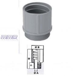 RACORD POLIAMIDA TUBO PVC FLEXIBLE PG48 240.4800.0 GAESTOPAS