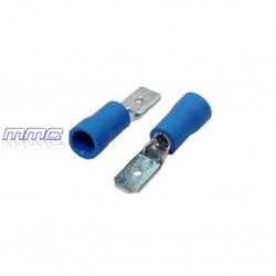 TERMINAL FASTON MACHO CABLE 2,5 PREAISLADO