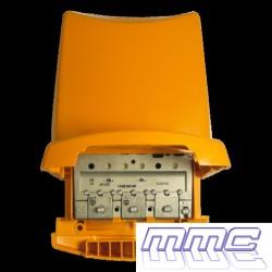 AMPLIFICADOR DE MASTIL 1 ENTRADA / 1 SALIDA 41DB TELEVES 535640