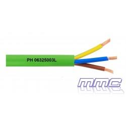 CABLE MANGUERA RZ1-K 0,6/1KV 3G1,5 LIBRE HALOGENOS RZ1-K 3G1,5