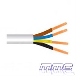 CABLE MANGUERA H05VV-F 4G1,5 BLANCO H05VV-F 4G1,5B