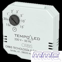 TEMPORIZADOR FONDO DE CAJA 230V LED HASTA 150W TEMPO LED ORBIS OB200007