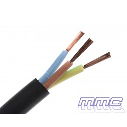 CABLE MANGUERA H05VV-F 3G1 NEGRO H05VV-F 3G1N