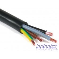 CABLE MANGUERA RV-K 0,6/1KV 4G2,5 NEGRO H05VV-F 4G2,5N