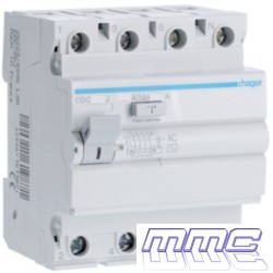 DIFERENCIAL 4P 25A 30MA HAGER CDC725J