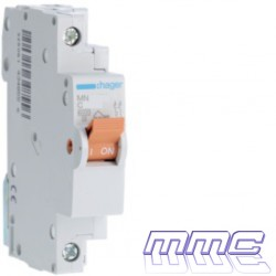 MAGNETOTERMICO 1P+N 10A 1 MODULO DPN VIVIENDA HAGER MN910V