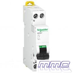 MAGNETOTERMICO 1P+N DPN 1 MODULO 40A SCHNEIDER A9N21649