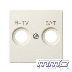TAPA TOMA R-TV-SAT SIMON 82 MARFIL 82097-31